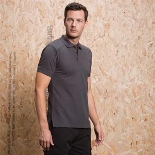 Shoulder Patch Polo Shirt Superwash® 60°C