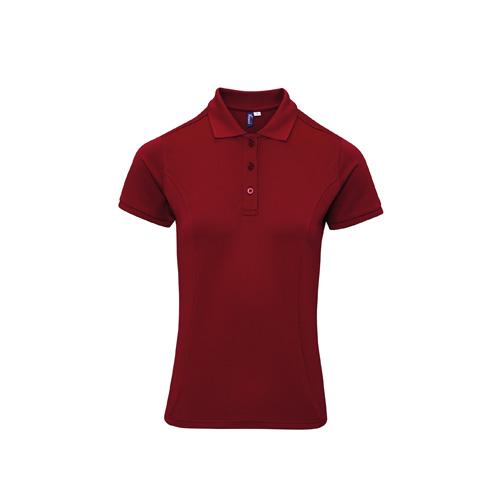 Women'S Coolchecker Plus Piqué Polo With Coolplus®