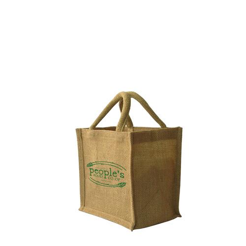 Small Jute Shopper Bag (200 x 200 + 150mm)