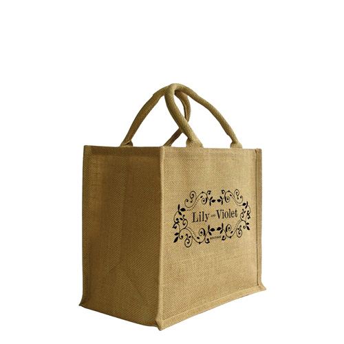 Medium Jute Shopper Bag (300 x 300 + 170mm)