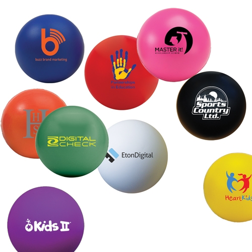 60mm Stress Ball - Low Cost