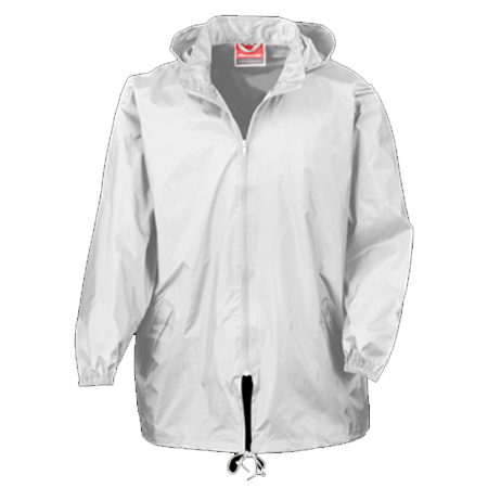 Rain Jacket in white