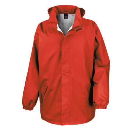 Midweight Jacket in red