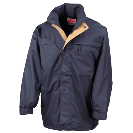 Multi-Function Midweight Jacket in navy-sand