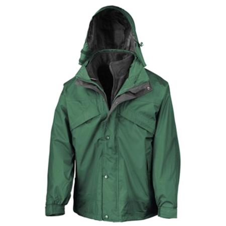 3-in-1 Waterproof Fleece Lined Jacket in bottle