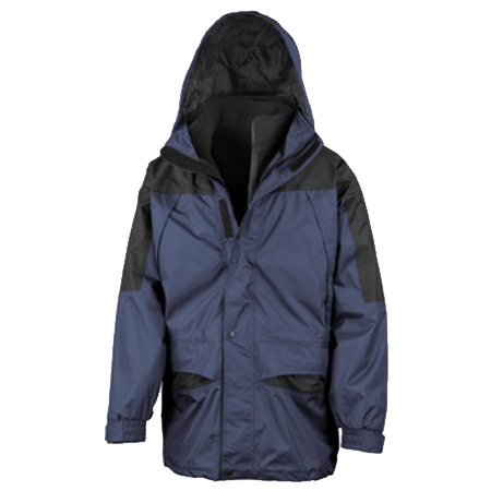 Alaska 3-in-1 Jacket in navy-black