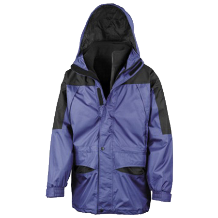 Alaska 3-in-1 Jacket in royal-black