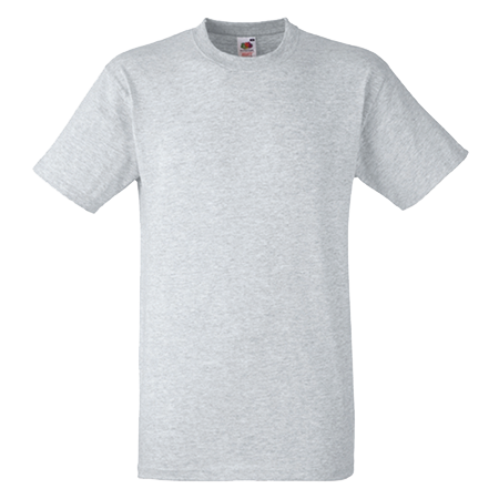 Heavy Cotton T-Shirt in heather-grey