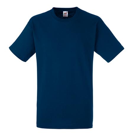 Heavy Cotton T-Shirt in navy