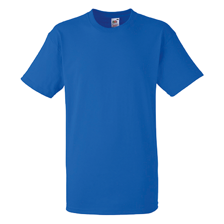 Heavy Cotton T-Shirt in royal-blue
