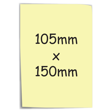 Sticky-Mate Note 1 in yellow