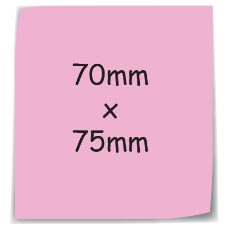 Sticky-Mate Note 5 in pink