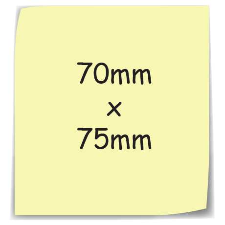 Sticky-Mate Note 5 in yellow