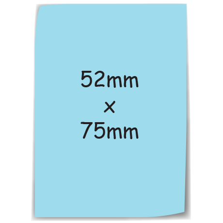 Sticky-Mate Note 6 in blue