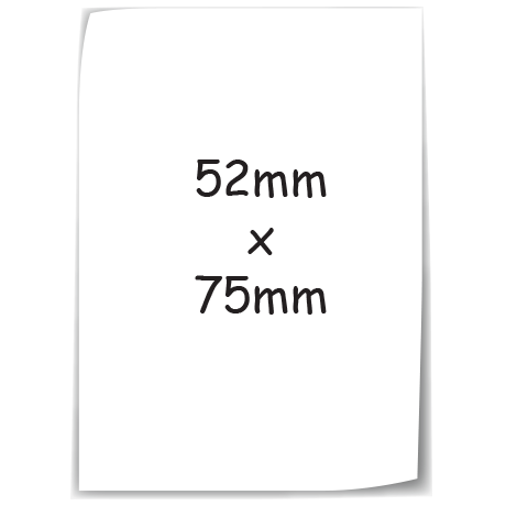 Sticky-Mate Note 6 in white