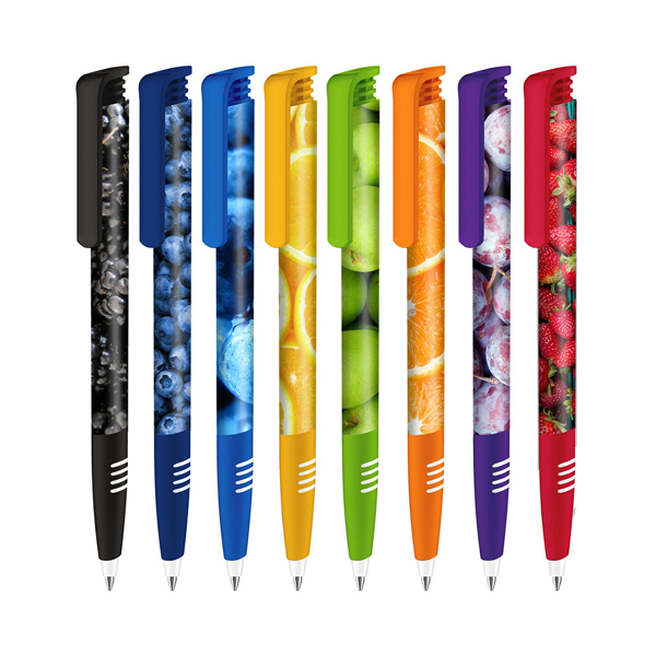 Super Hit Polished with Soft Grip Plastic Ballpen with Xtreme Branding