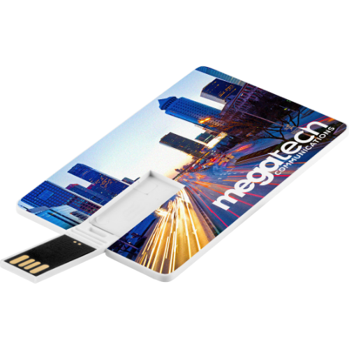 Credit Card USB Flash Drive - 4GB (Full Colour Print to Both Sides)