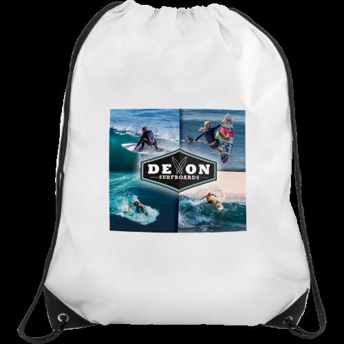 Verve Drawstring Bag (Coloured) (Digital Transfer Print)