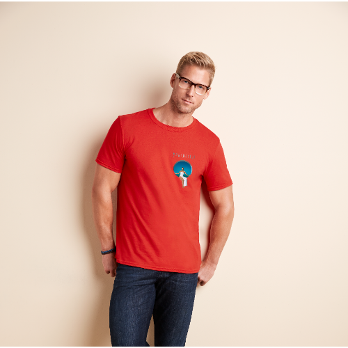 Gildan SoftStyle T-Shirt - Coloured (Transfer Print - 102 x 102mm)