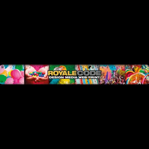 30cm / 12 inch Ruler (24hr Express - Full Colour Print)