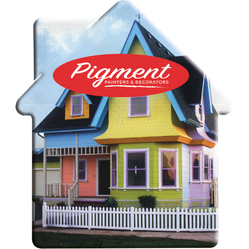 Mint Container House Shape (Full Colour Print)