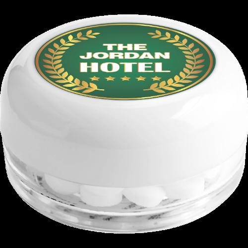Small Mint Pot (Full Colour Print)