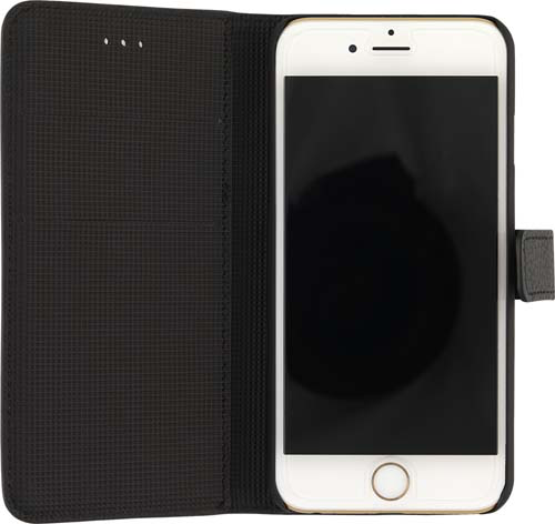 Leatherette iPhone 6 Case in open
