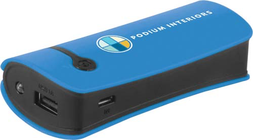 Power Bank - Velocity in blue
