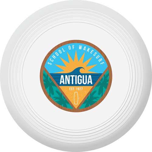 Recycled Frisbee Small in white