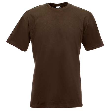 Super Premium T-Shirt in chocolate