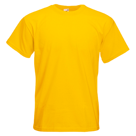 Super Premium T-Shirt in sunflower