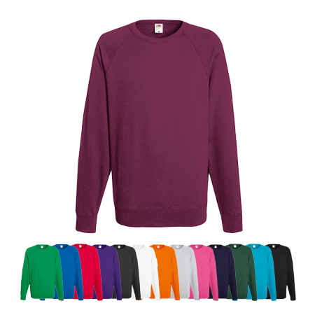 Lightweight Raglan Sweatshirt in