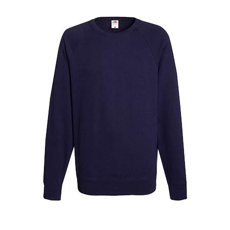 Lightweight Raglan Sweatshirt in deep-navy