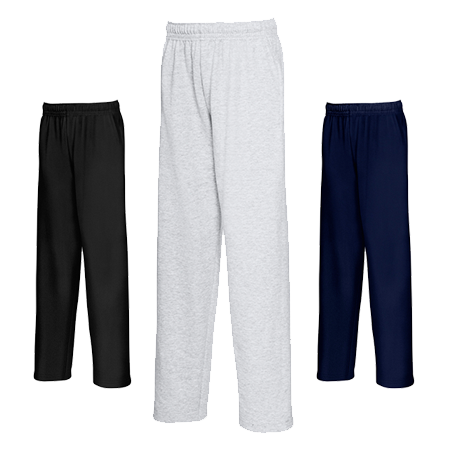 Kids Lightweight Jog Pants in heather-grey