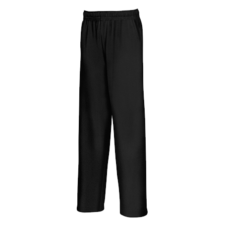 Kids Lightweight Jog Pants in black