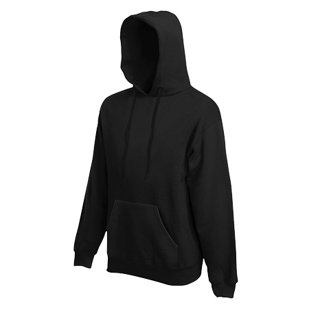 Hooded Sweatshirt in black
