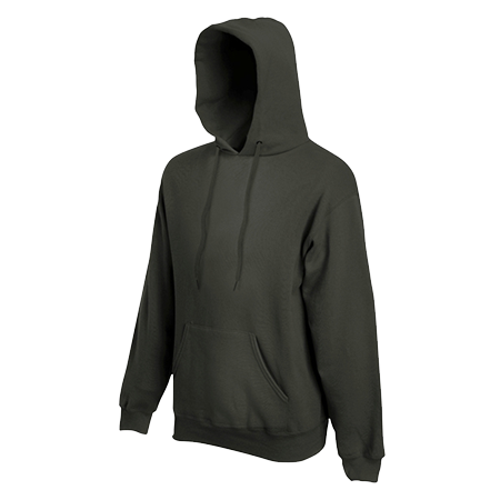 Hooded Sweatshirt in charcoal
