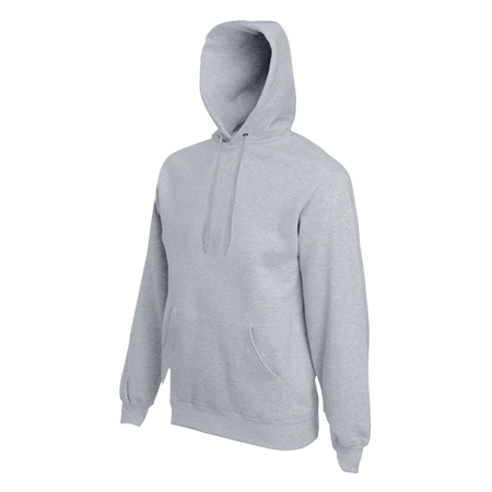 Hooded Sweatshirt in heather-grey