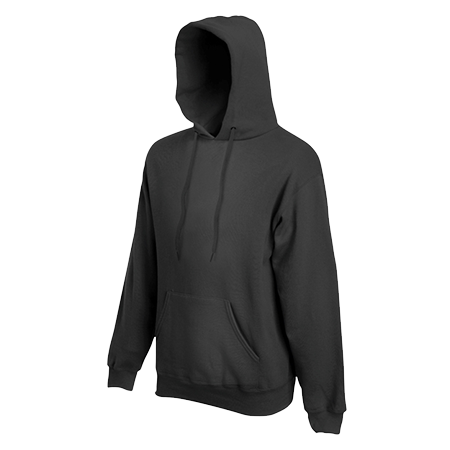 Hooded Sweatshirt in light-graphite