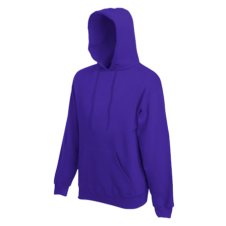 Hooded Sweatshirt in purple