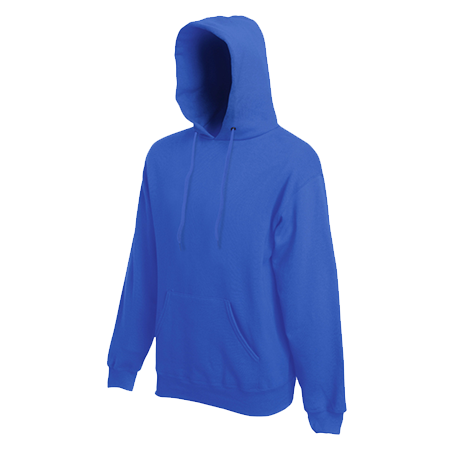 Hooded Sweatshirt in royal-blue
