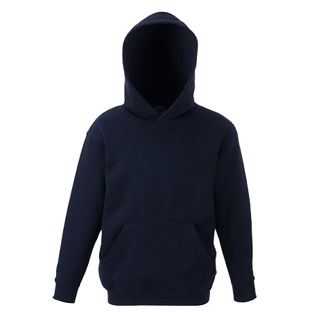 Kids Hooded Sweatshirt in deep-navy