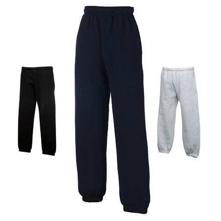 Kids Jog Pants in heather-grey
