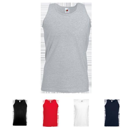 Athletic Vest in white