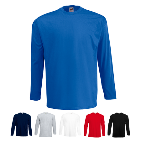 Long Sleeve Value T-Shirt in