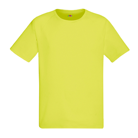 Performance T-Shirt in bright-yellow