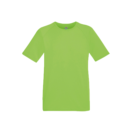 Performance T-Shirt in lime