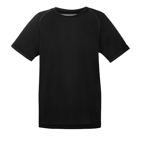 Kids Performance T-Shirt in black