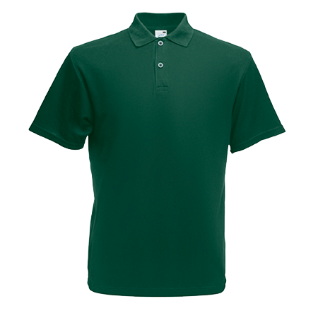 Original Pique Polo Shirt in forest-green