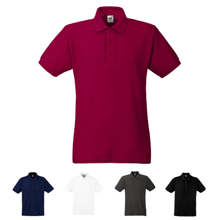 Heavy Pique Polo Shirt in